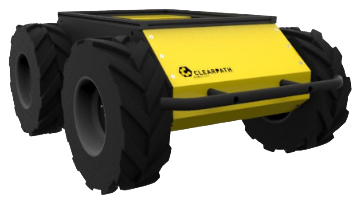 Clearpath Husky unmanned ground vehicle